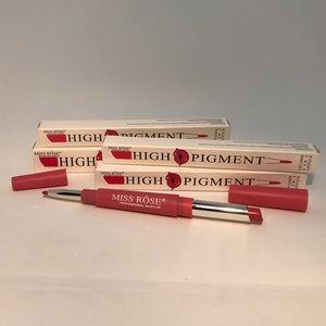 Lipstick and pencil